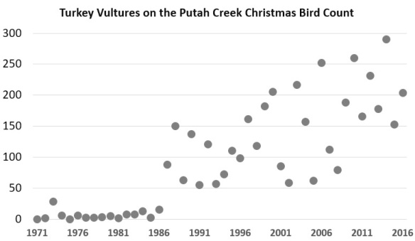 turkey vulture graph